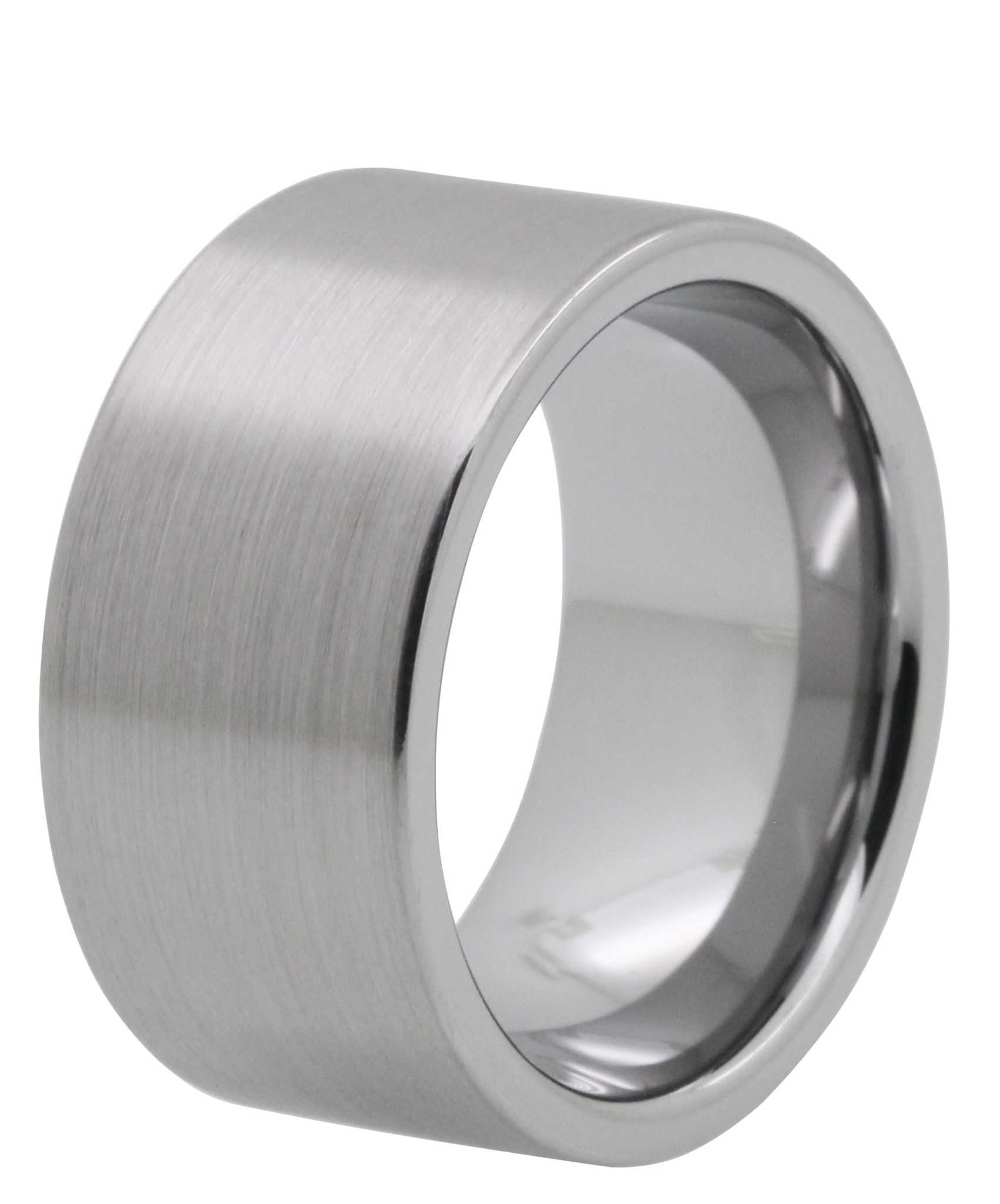 brushed tungsten rings mens wedding bands online