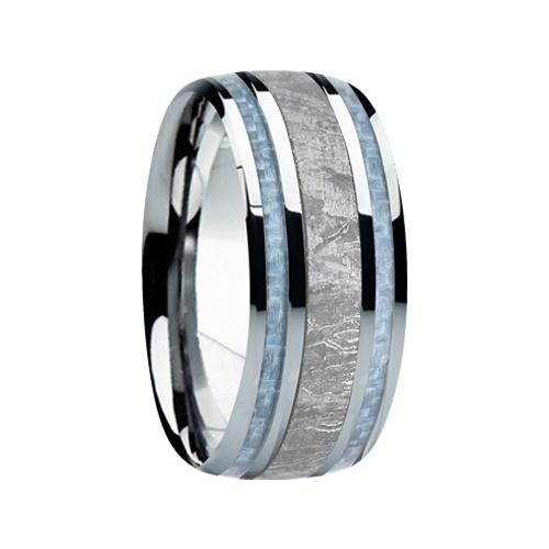 """9 mm Meteorite in Titanium Ring """"Phoenix"""""""