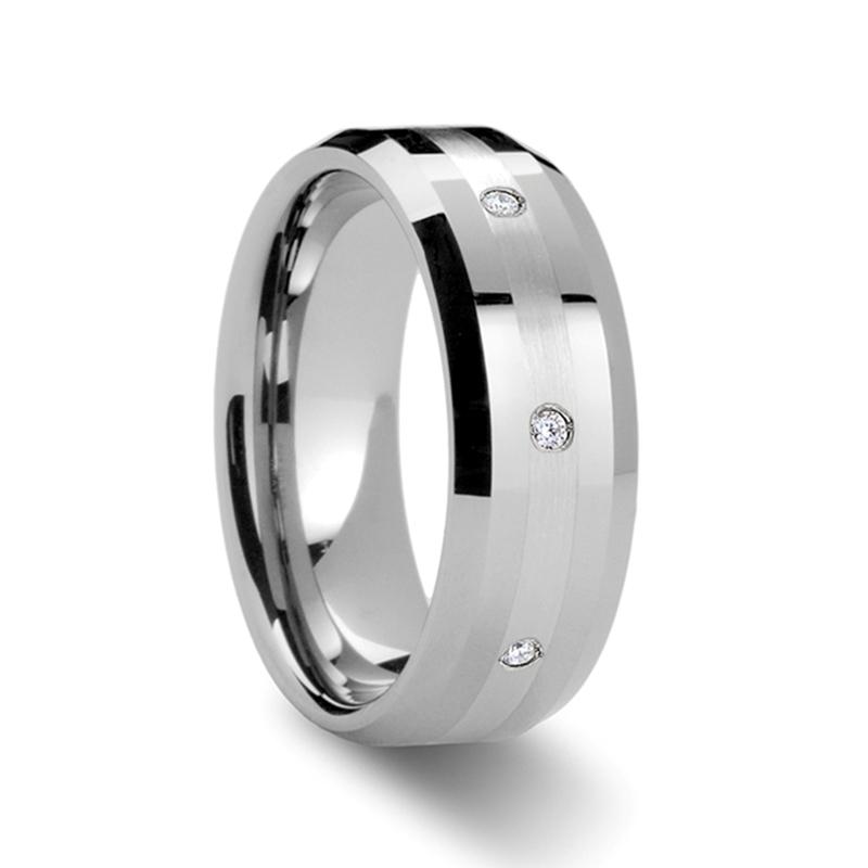 """.32 cwt Diamonds set in Platinum and Tungsten """"Newland"""""""