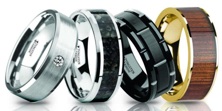 Tungsten com rings