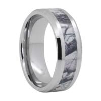 """8 mm Camo Design Tungsten Rings """"Oxford"""""""