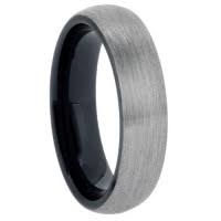 "6 mm Tungsten Rings - Black Sleeve ""Barclay 6"""